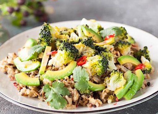 buryj-ris-s-brokkoli