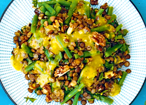salat-iz-zelyonoj-fasoli-s-chechevitsej-i-gorchichnoj-zapravkoj